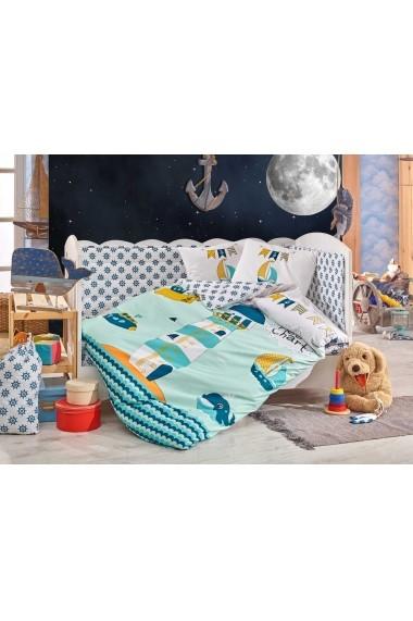 Set lenjerie de pat pentru copii Hobby 113HBY0044 Multicolor
