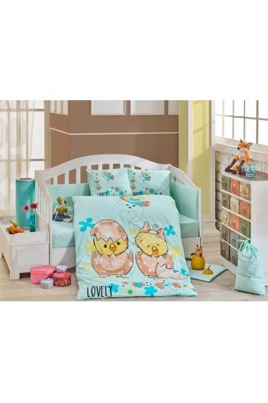Set lenjerie de pat pentru copii Hobby 113HBY0047 Multicolor