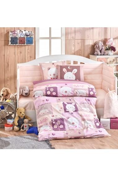 Set lenjerie de pat pentru copii Hobby 113HBY0053 Multicolor