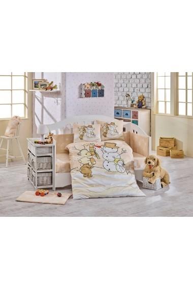 Set lenjerie de pat pentru copii Hobby 113HBY0054 Multicolor
