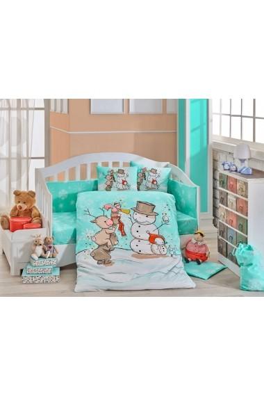 Set lenjerie de pat pentru copii Hobby 113HBY0055 Multicolor