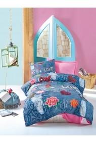 Set lenjerie de pat pentru copii Cotton Box 129CTN3014 Multicolor