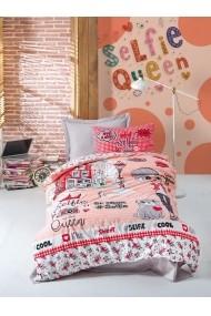 Set lenjerie de pat pentru copii Cotton Box 129CTN3026 Multicolor