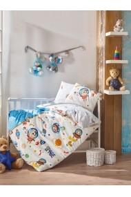 Set lenjerie de pat pentru copii Cotton Box 129CTN1802 Multicolor