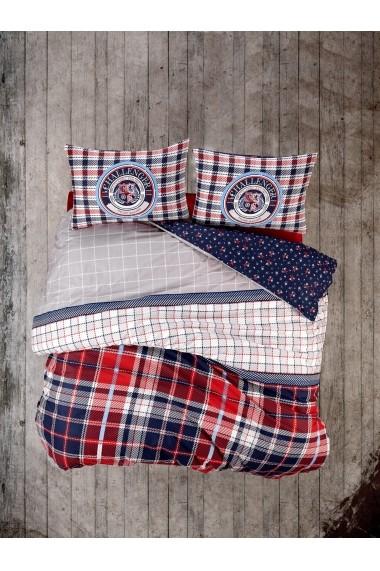 Set lenjerie de pat dublu Cotton Box 129CTN2663 Multicolor