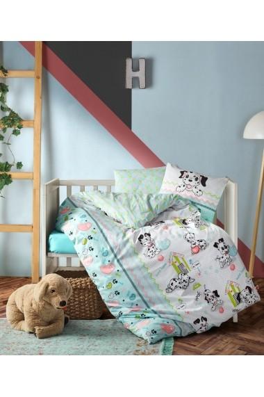 Set lenjerie de pat pentru copii Cotton Box 129CTN3032 Multicolor