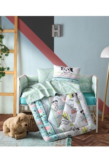 Set lenjerie de pat pentru copii Cotton Box 129CTN5081 Multicolor