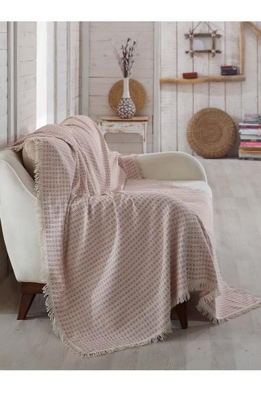 Patura pentru canapea Eponj Home 336EPJ0417 Roz