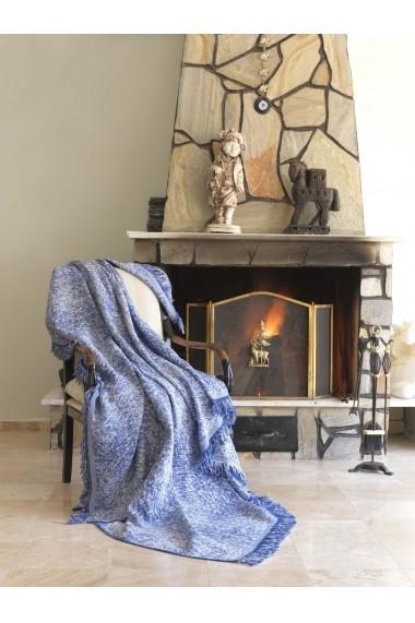 Patura pentru canapea Eponj Home 336EPJ0429 Albastru