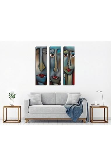 Tablou decorativ (3 bucati) Symphony 762SYM4272 multicolor