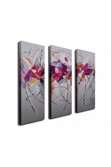Tablou decorativ (3 bucati) Symphony 762SYM4273 multicolor