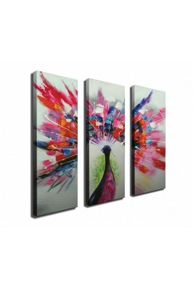 Tablou decorativ (3 bucati) Symphony 762SYM4274 multicolor