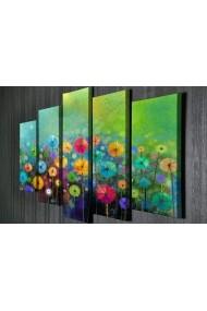 Tablou decorativ (5 bucati) Symphony 762SYM4282 multicolor