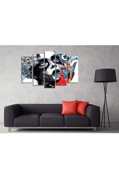 Tablou decorativ (5 bucati) Symphony 762SYM4283 multicolor