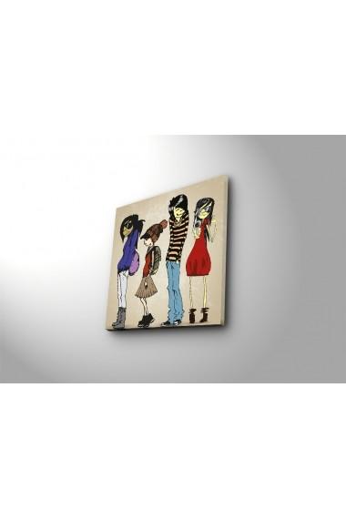 Tablou din panza Bonanza ASR-242BNZ1224 Multicolor