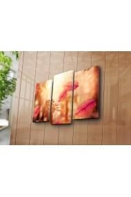 Set 3 tablouri din panza Bonanza ASR-242BNZ3210 Multicolor