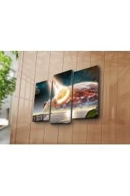 Set 3 tablouri din panza Bonanza ASR-242BNZ3204 Multicolor