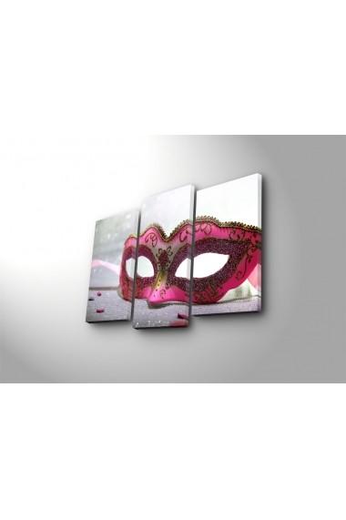 Set 3 tablouri din panza Bonanza ASR-242BNZ3242 Multicolor