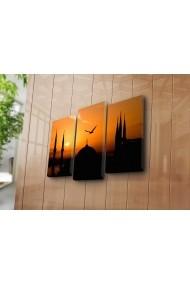 Set 3 tablouri din panza Bonanza ASR-242BNZ3247 Multicolor