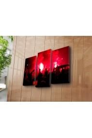 Set 3 tablouri din panza Bonanza ASR-242BNZ3253 Multicolor