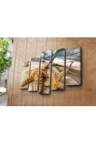 Set 5 tablouri din panza Bonanza ASR-242BNZ5204 Multicolor