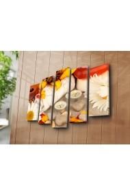 Set 5 tablouri din panza Bonanza ASR-242BNZ5254 Multicolor