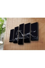 Set 5 tablouri din panza Bonanza ASR-242BNZ4240 Multicolor