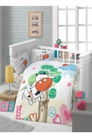 Set lenjerie de pat pentru copii Patik ASR-170PTK2005 Multicolor
