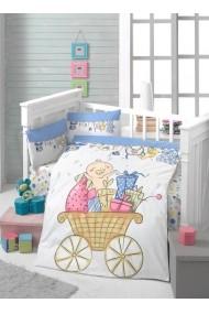 Set lenjerie de pat pentru copii Patik ASR-170PTK2007 Multicolor