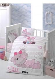 Set lenjerie de pat pentru copii Patik ASR-170PTK2010 Multicolor