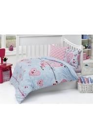 Set lenjerie de pat pentru copii Nazenin Home ASR-164NZN2003 Multicolor
