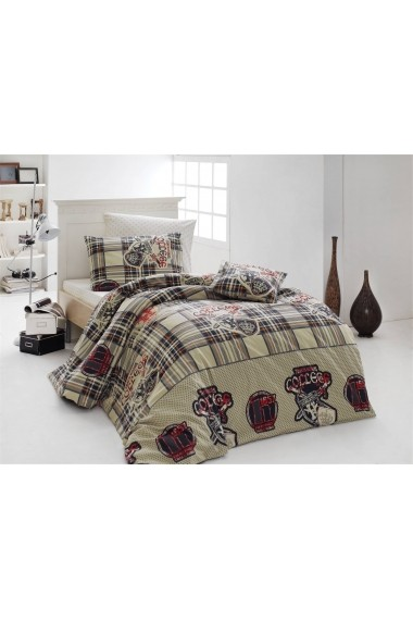 Set lenjerie de pat pentru copii Nazenin Home 164NZN2008 Multicolor