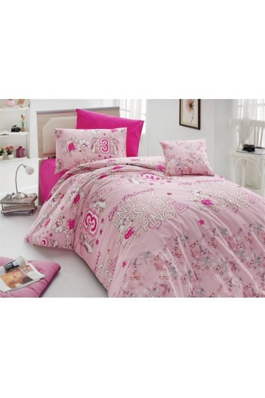 Set lenjerie de pat pentru copii Nazenin Home 164NZN2012 Multicolor