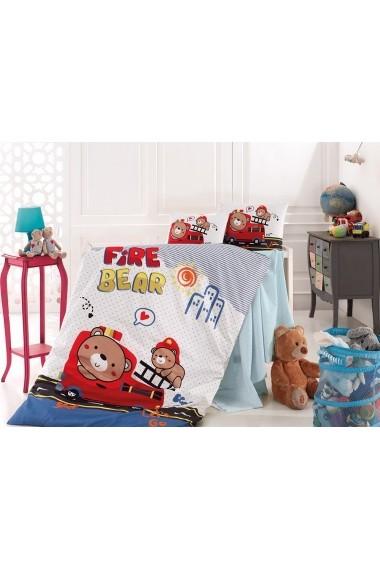 Set lenjerie de pat pentru copii Nazenin Home 164NZN2018 Multicolor