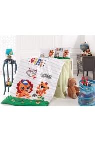 Set lenjerie de pat pentru copii Nazenin Home 164NZN2020 Multicolor