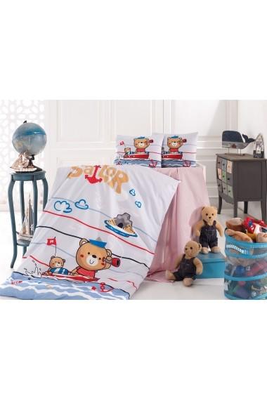 Set lenjerie de pat pentru copii Nazenin Home 164NZN2022 Multicolor