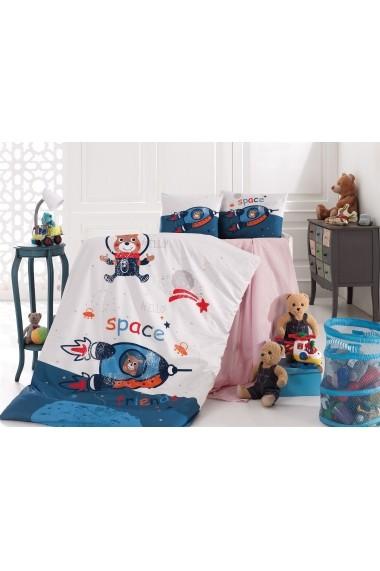 Set lenjerie de pat pentru copii Nazenin Home 164NZN2023 Multicolor