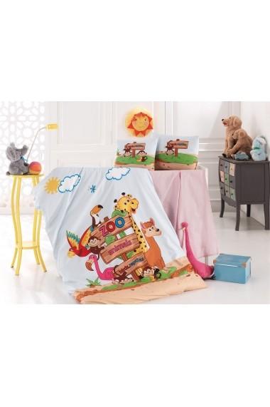 Set lenjerie de pat pentru copii Nazenin Home 164NZN2025 Multicolor
