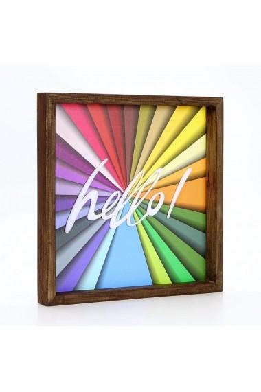 Obiect decorativ de perete Evila Originals ASR-797EVL1164 Multicolor