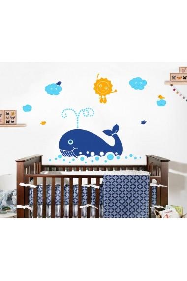 Sticker decorativ de perete Evila Originals 820EVL4323 Multicolor