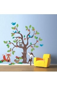 Sticker decorativ de perete Evila Originals 820EVL4320 Multicolor