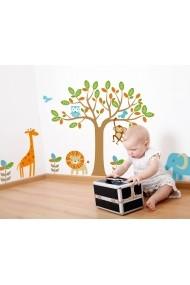 Sticker decorativ de perete Evila Originals 820EVL4321 Multicolor