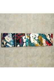 Set ceas decorativ de perete (4 articole) Evila Originals 820EVL4369 Multicolor