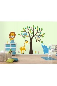 Sticker decorativ de perete Evila Originals 820EVL4322 Multicolor