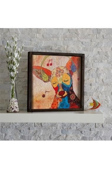 Tablou din MDF Evila Originals ASR-797EVL1489 Multicolor