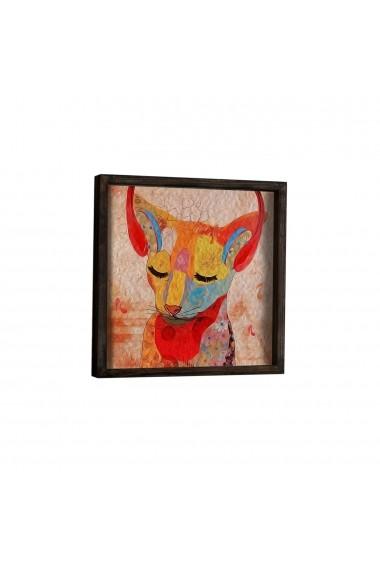 Tablou din MDF Evila Originals ASR-797EVL1491 Multicolor