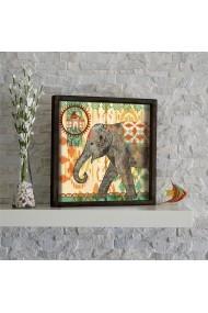 Tablou din MDF Evila Originals ASR-797EVL1517 Multicolor