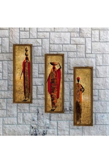 Tablou decorativ (3 bucati) Evila Originals 797EVL1390 multicolor