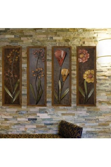 Tablou decorativ (4 bucati) Evila Originals 797EVL1383 multicolor
