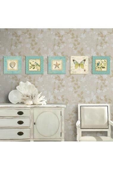 Tablou decorativ (5 bucati) Evila Originals 820EVL4572 multicolor